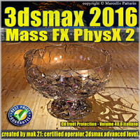 040 3ds max 2016 Mass Fx PhysX v.40 cd front