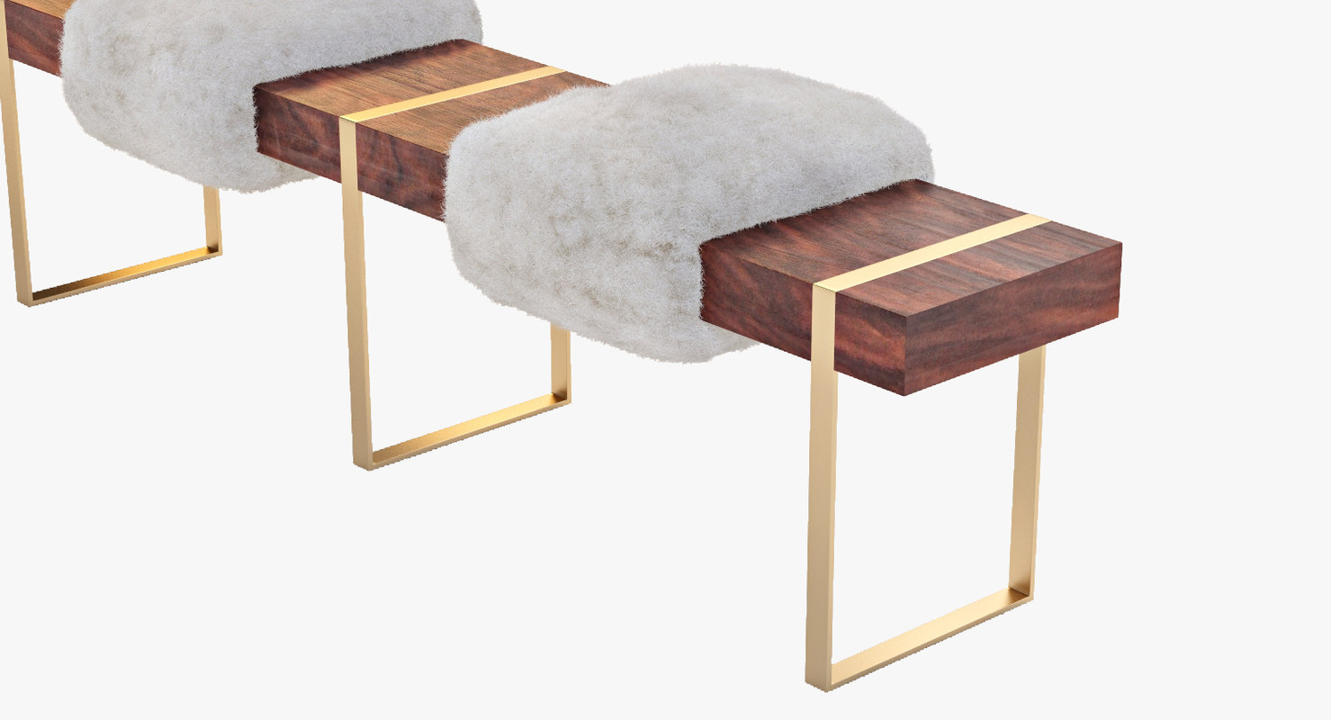 3d model infinity bench azadeh