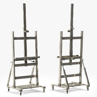 Restoration Hardware POLISHED NICKEL TV EASEL