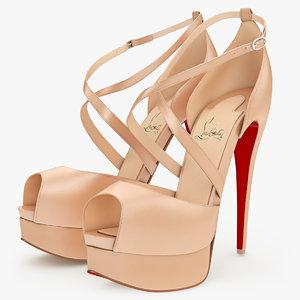 max shoes louboutin cross