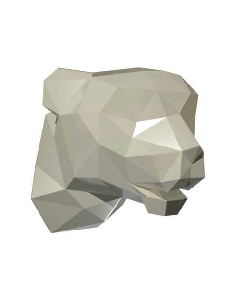 tiger head 3d max