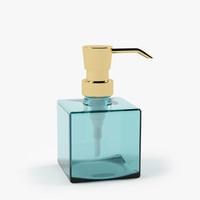 glass dispenser 3d model