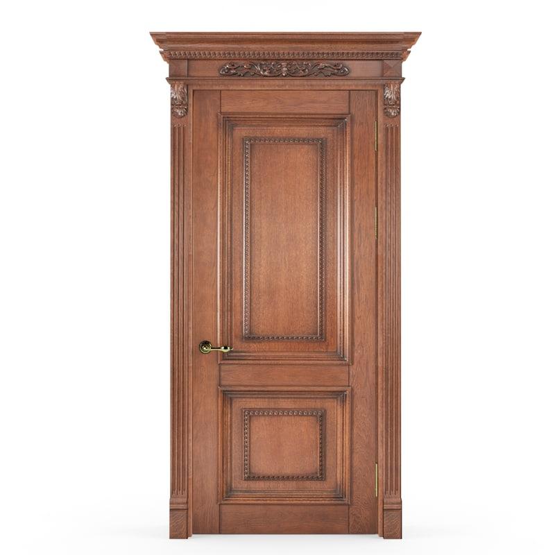 classic door 3d x