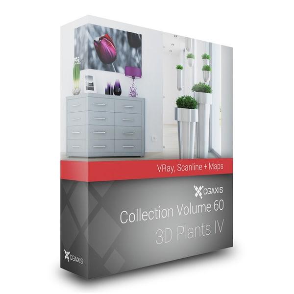 3dsmax volume 60 plants iv