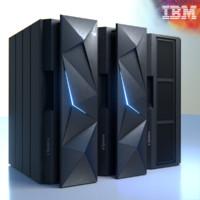 ibm z13 3d model