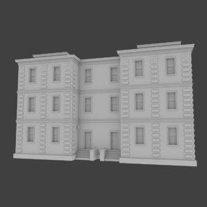 brick apartment building interior exterior x