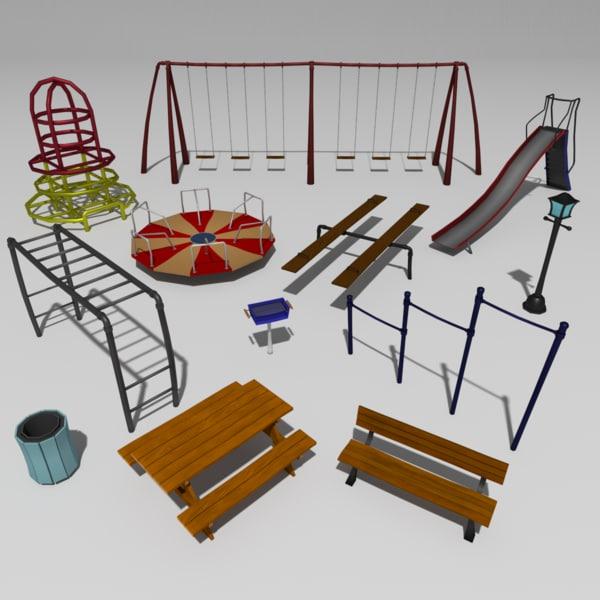 3d grimtoon park