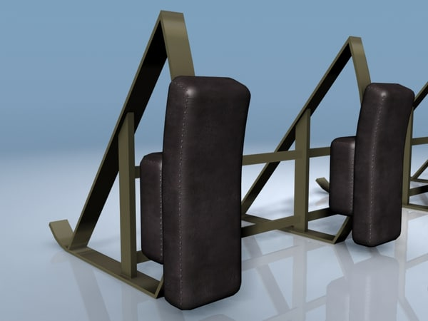 3d model of tackle football training