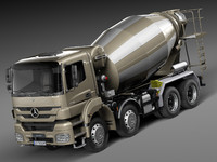 Mercedes-Benz Axor 3240B Concrete Mixer 2015