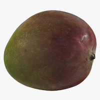 photorealistic mango 3d model