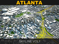 Atlanta Skyline vol1