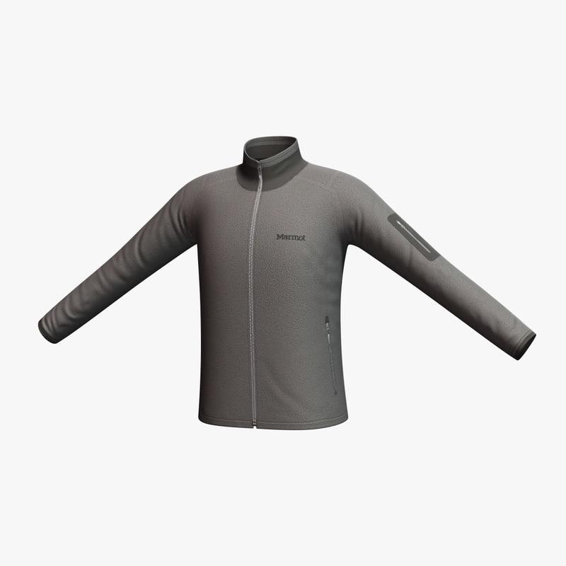 marmot reactor jacket 3d model
