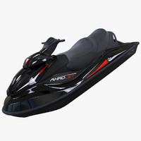 Black Jet Ski Akrojet