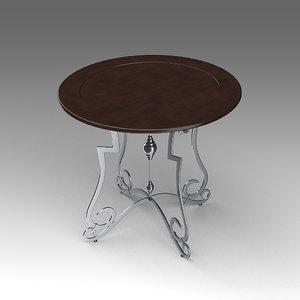 table 3d fbx