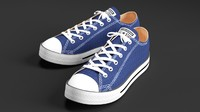 Converse All Star Sneakers (Blue)