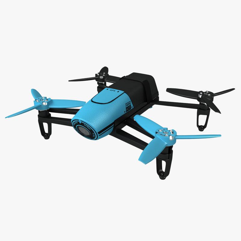 3d parrot bebop drone indoor