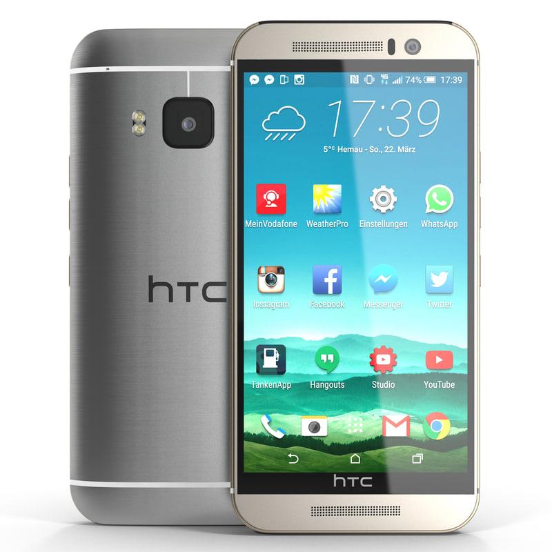 3d model htc m9