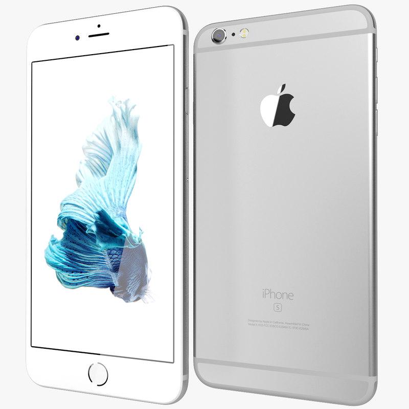 realistic apple iphone 6s 3d model
