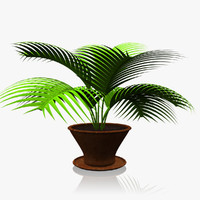 3ds max small house plant