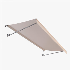 3d cloth awning model