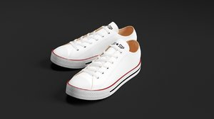 converse star sneakers fbx