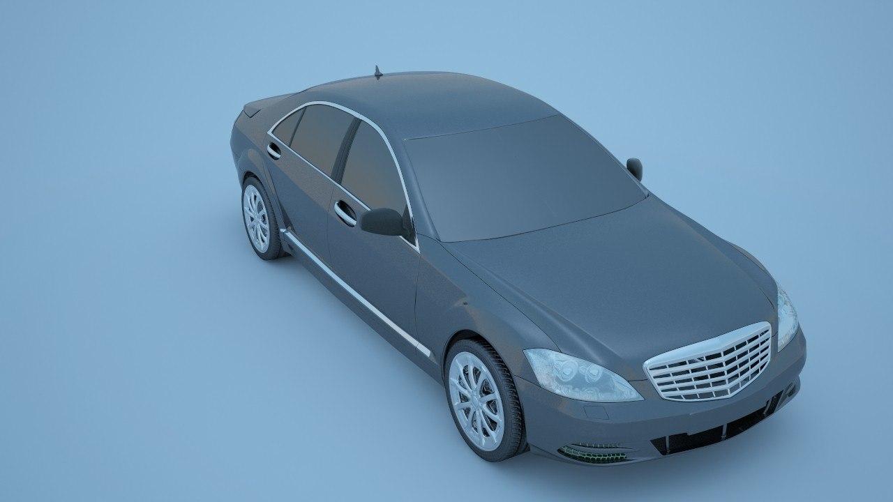 car printable stl 3d model