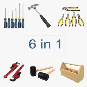 tools 2 3d model