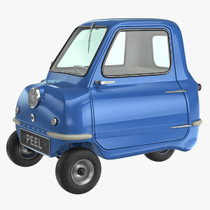 smallest peel p50 car 3d max