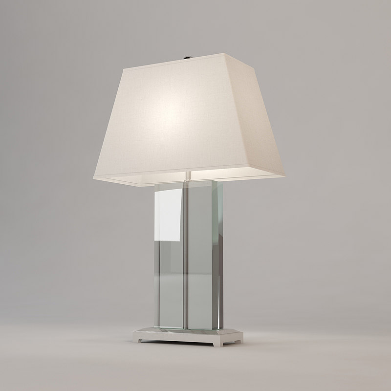 3d model andrew martin hawkins table lamp
