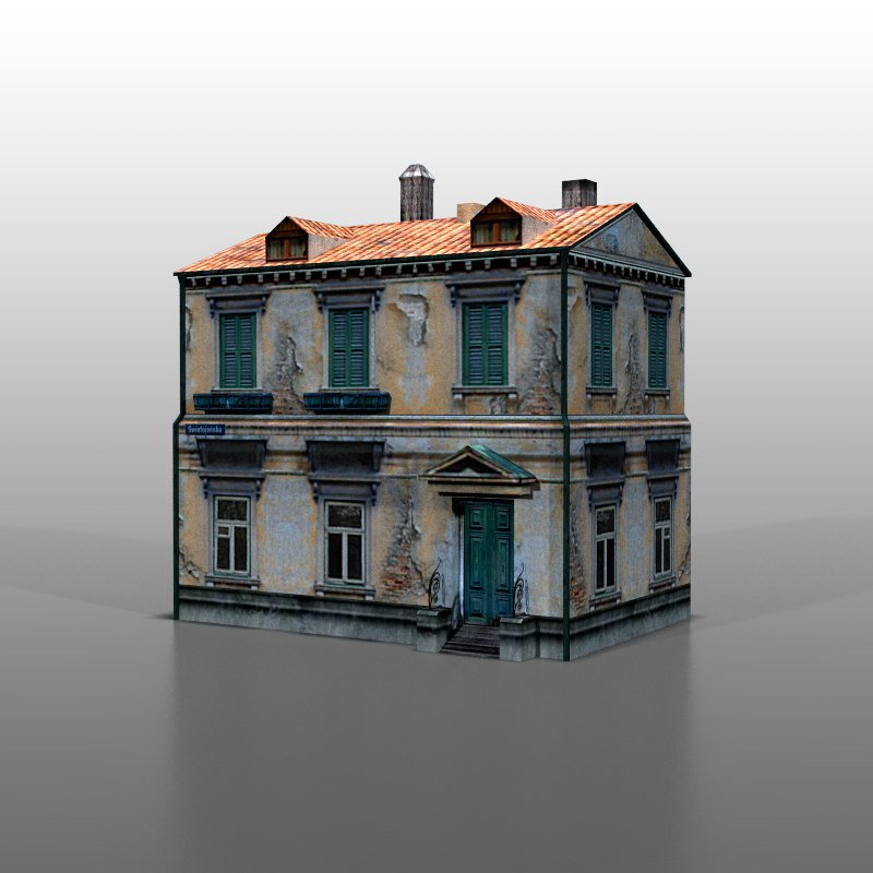 3ds max house polish