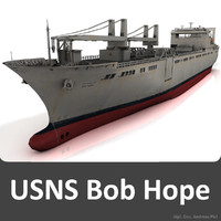 3d model of united states usns bob