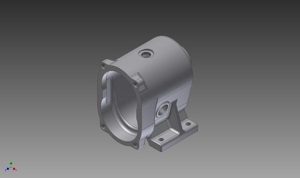 mechanism gearing 3d model