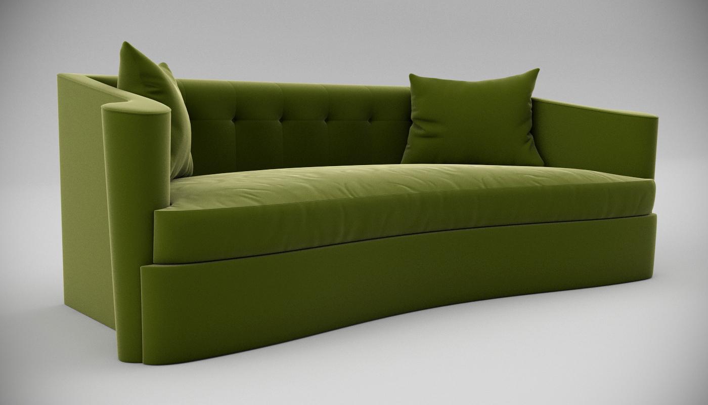 Lillian August Maison Sofa Interior