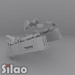 3dmg maneuver gear 3d max