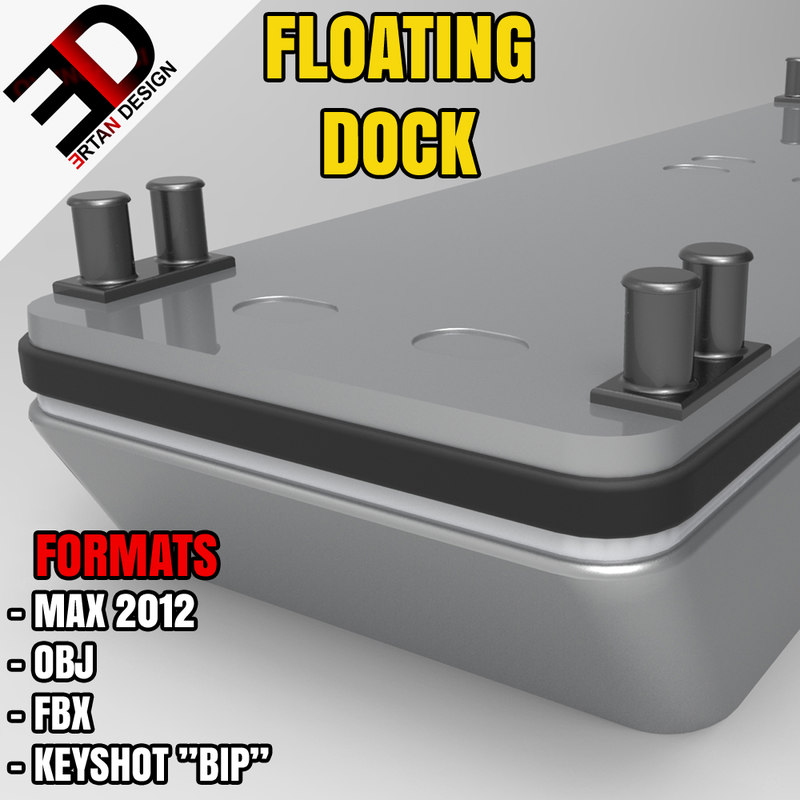 free max model floating dock