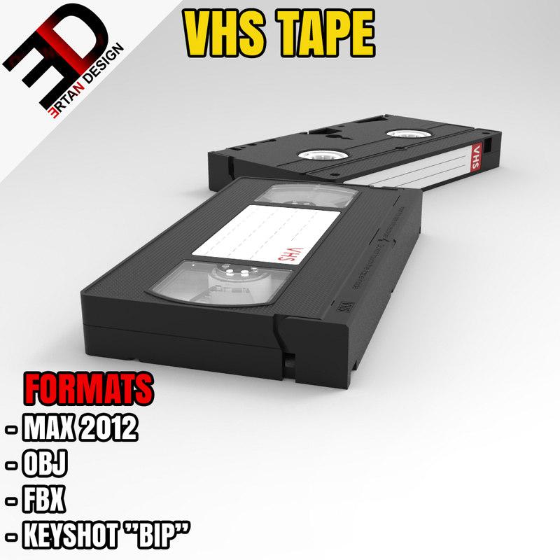 3d obj vhs tape