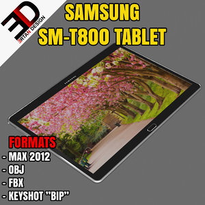 3d samsung sm-t800