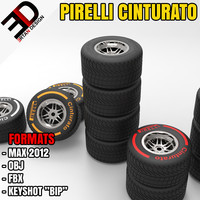3d pirelli cinturato wheel