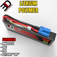 lithium polymer 3d model