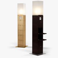 giorgetti meo cabinet 3d model