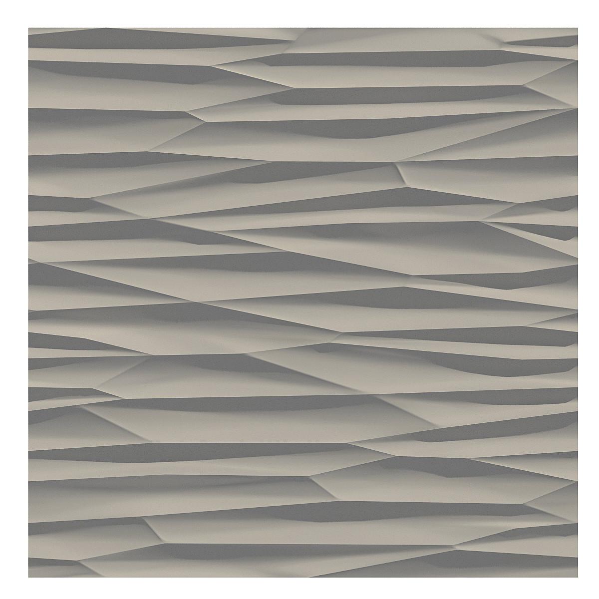 3d wall panel ice model