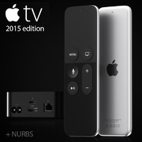 3d model apple tv 2015