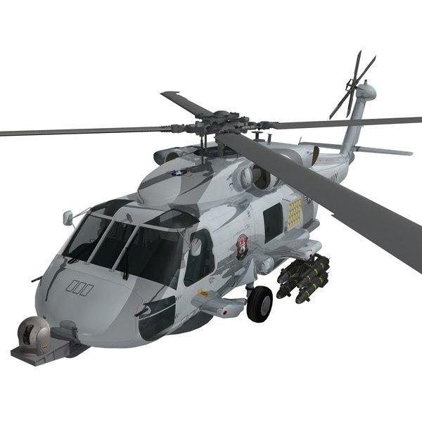 mh-60 seahawk s 3d max