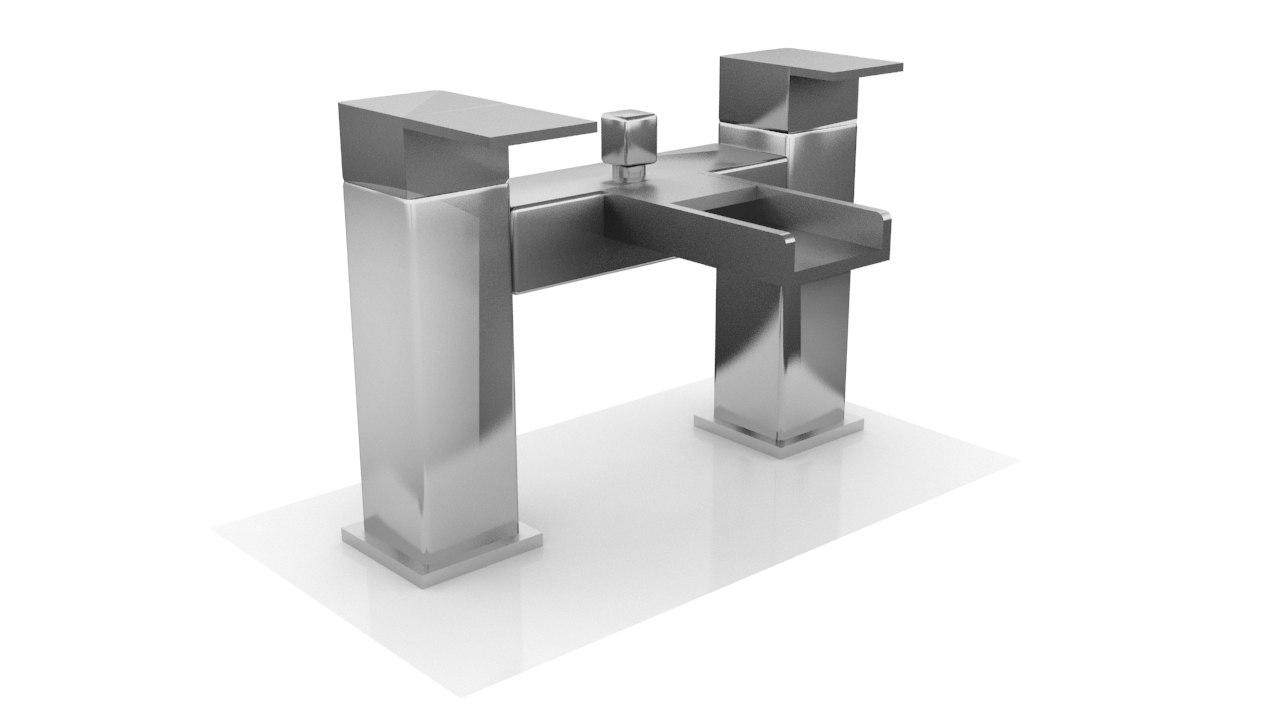 vitale bath shower mixer 3d 3ds