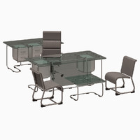 table office chair obj