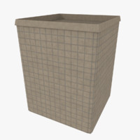 hesco barrier 3d 3ds