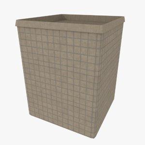 hesco barrier 3d 3ds