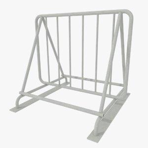 3d bike rack model