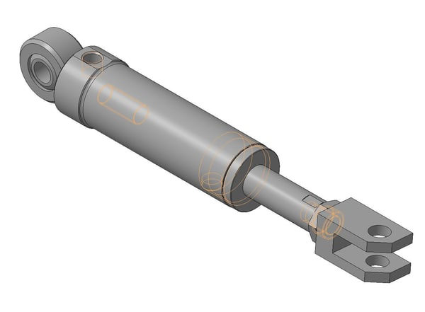 3d ige hydraulic cylinders