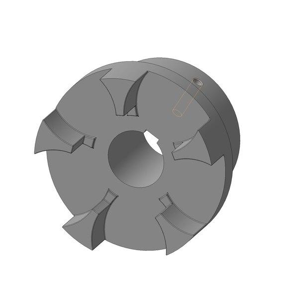 3d model coupling engineering industry